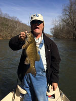 Smallmouth bass fishing guides