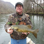 Tennessee fly fishing guides for smallmouth bass