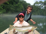 Asheville NC fly fishing guides on the South Holston River