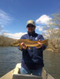 Asheville NC fly fishing guides on the Watauga River