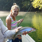 Watauga River fly fishing guides from Asheville, NC