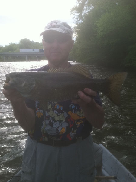 Tennessee smallmouth bass fishing