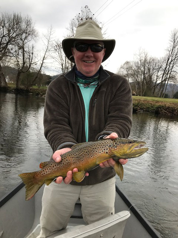 Fly fishing the South Hoston River