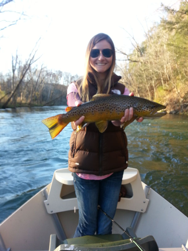Asheville north carolina fly fishing guides on the south for Watauga river fishing