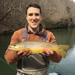 fly fishing guides on the Watauga River