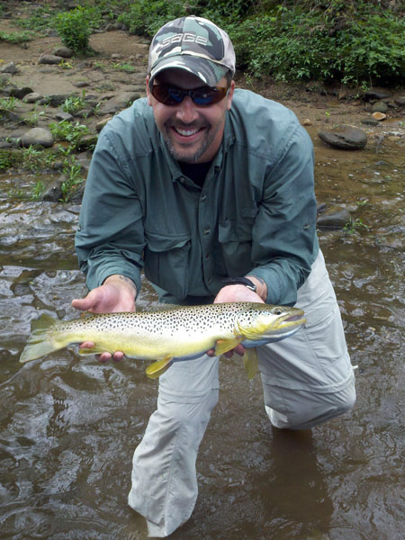 Watauga river fly fishing report includes stream conditions for Trouts fly fishing reports