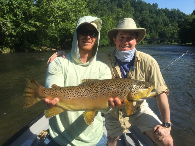 Asheville, NC fly fishing guides in WNC and East Tennessee